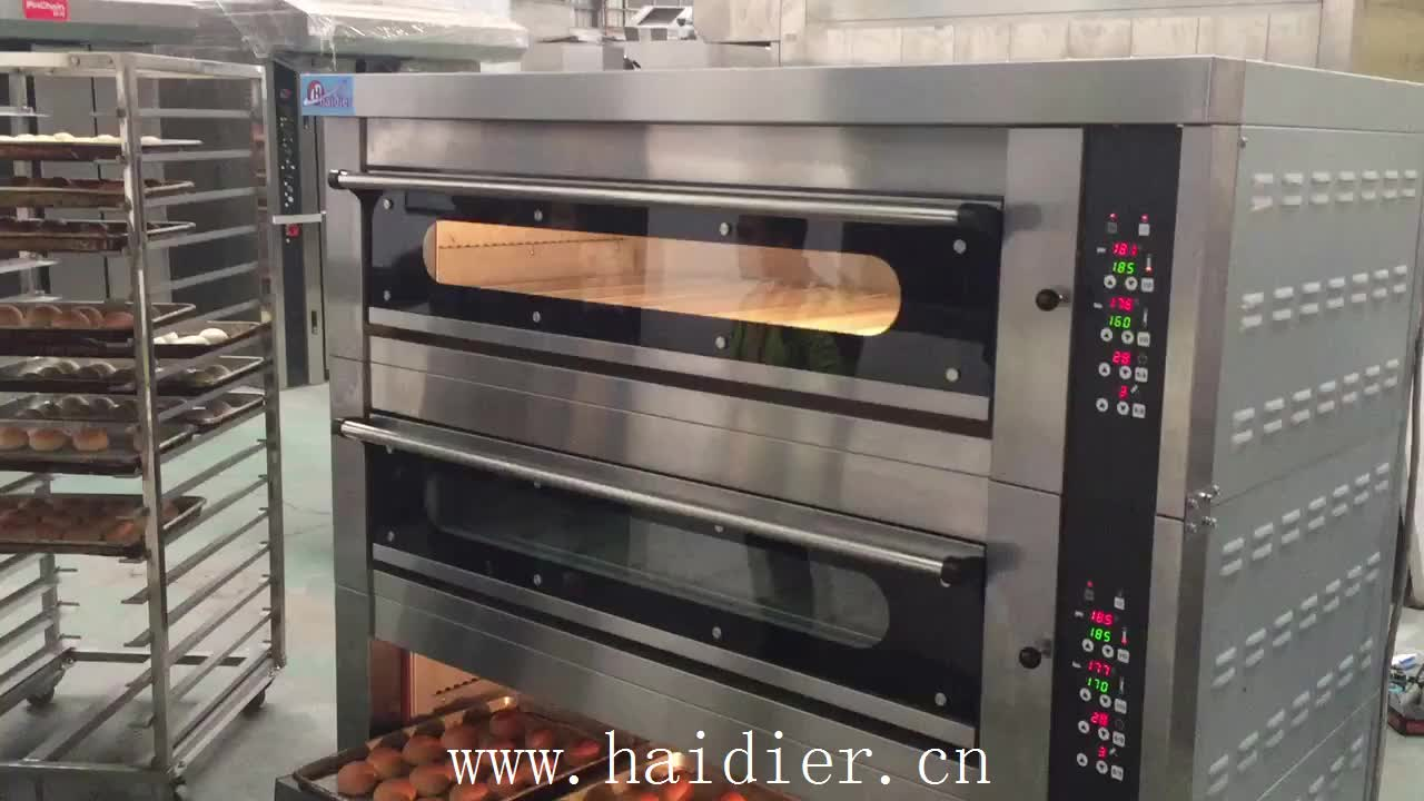 Electric Big Bakery Oven Prices Gas Double Deck Oven