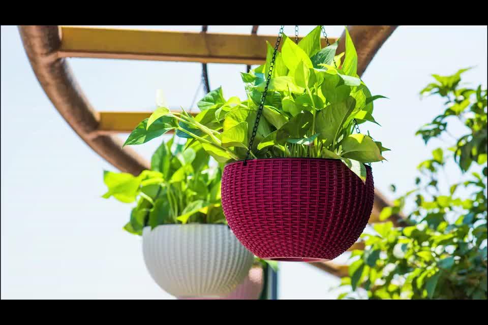 Günstige kleine größe mini bonsai vase blumentopf smart garten künstliche kleinen tisch blumentopf set für hydrokultur