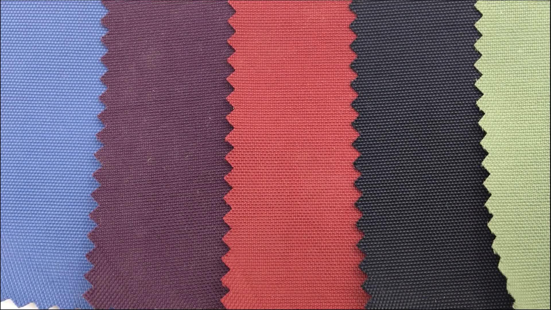 waterproof 400D 100% nylon taslan fabric wtih pu coated for jacket