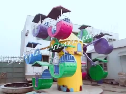 ferris wheel type 6m height 6 cabins mini ferris wheel