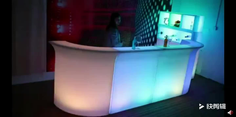 휴대용 16 색상 변경 조명 바 카운터/나이트 클럽 led 조명 바 카운터