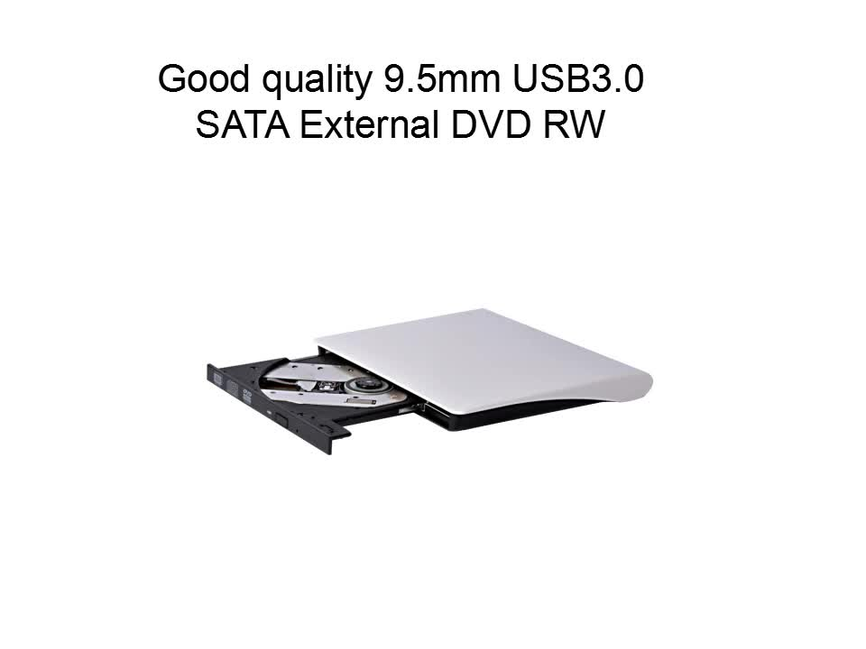 New arrival 12.7mm External DVDRW Coolest dvd recorder vcr combo