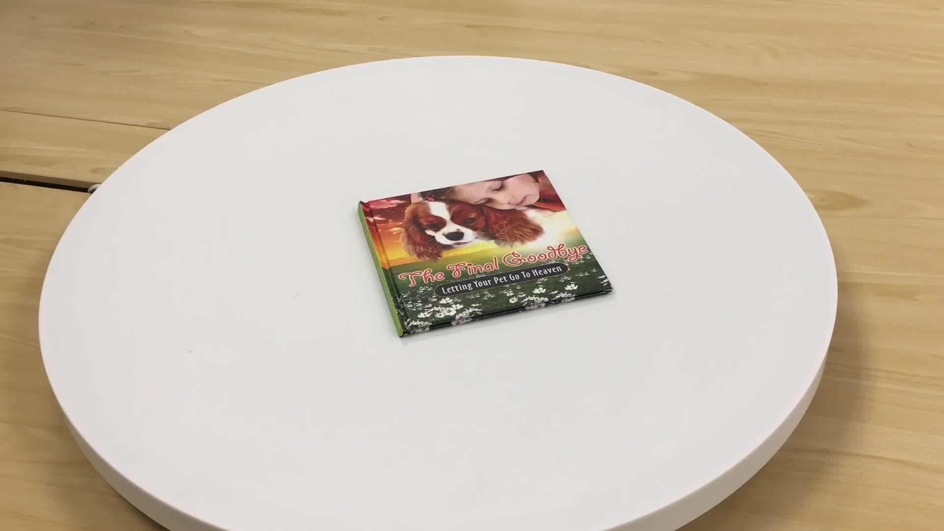 Impressão do livro de capa dura cor design personalizado barato por atacado criança pequena