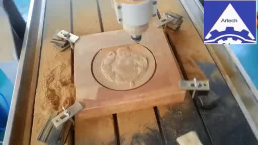 Small CNC Router Machine Machine for Advertising and Metal