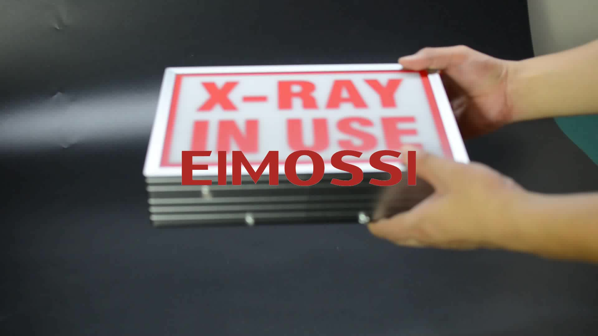 x-ray in use Engry-saving sign