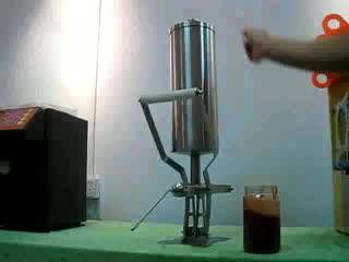 nutella dispenser churro filler for spanish churros stuffing WCF-2.3L
