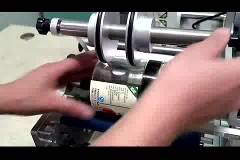 Полуавтоматическая Ручная стирка бутылок 60 мл стикер этикетировочная машина с датой печати