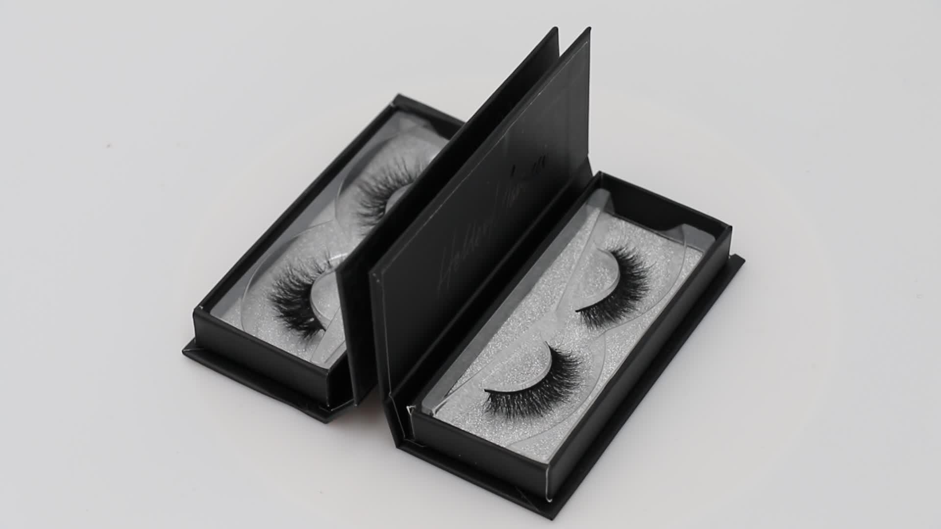 कस्टम Eyelashes बॉक्स पैकिंग थोक 3D मिंक Eyelashes निजी लेबल 3D मिंक Lashes खुद के ब्रांड Eyelashes