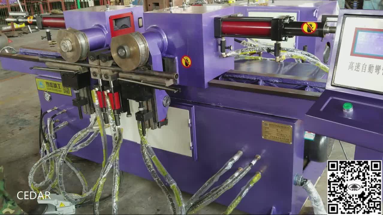SW-38 Double head steel bending machine price automatic pipe bending machine