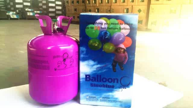 13.4l, 22.4l lata de hélio tanque de hélio cilindro balões 30Ib 50Ib gás hélio para balões