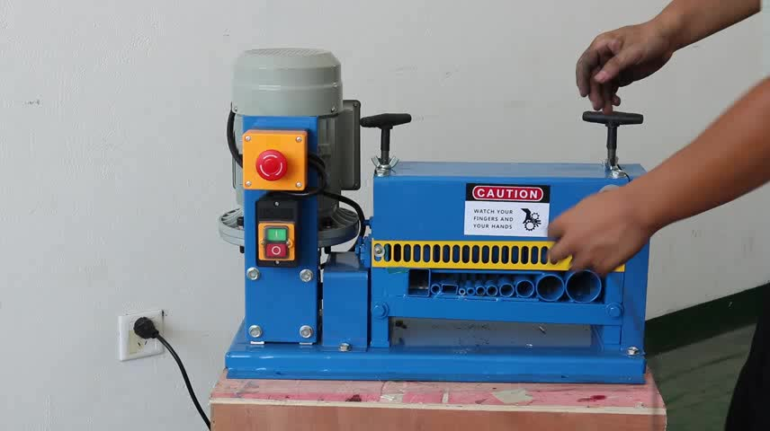 Usd215/set Automatic Scrap Cable Wire Stripper Machine Scrap Copper ...