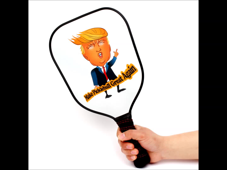 Image of: Vector Graphite Pickleball Paddle Met Aangepaste Donald Trump Cartoon Pp Pickleball Racket Houston Chronicle Graphite Pickleball Paddle Met Aangepaste Donald Trump Cartoon Pp