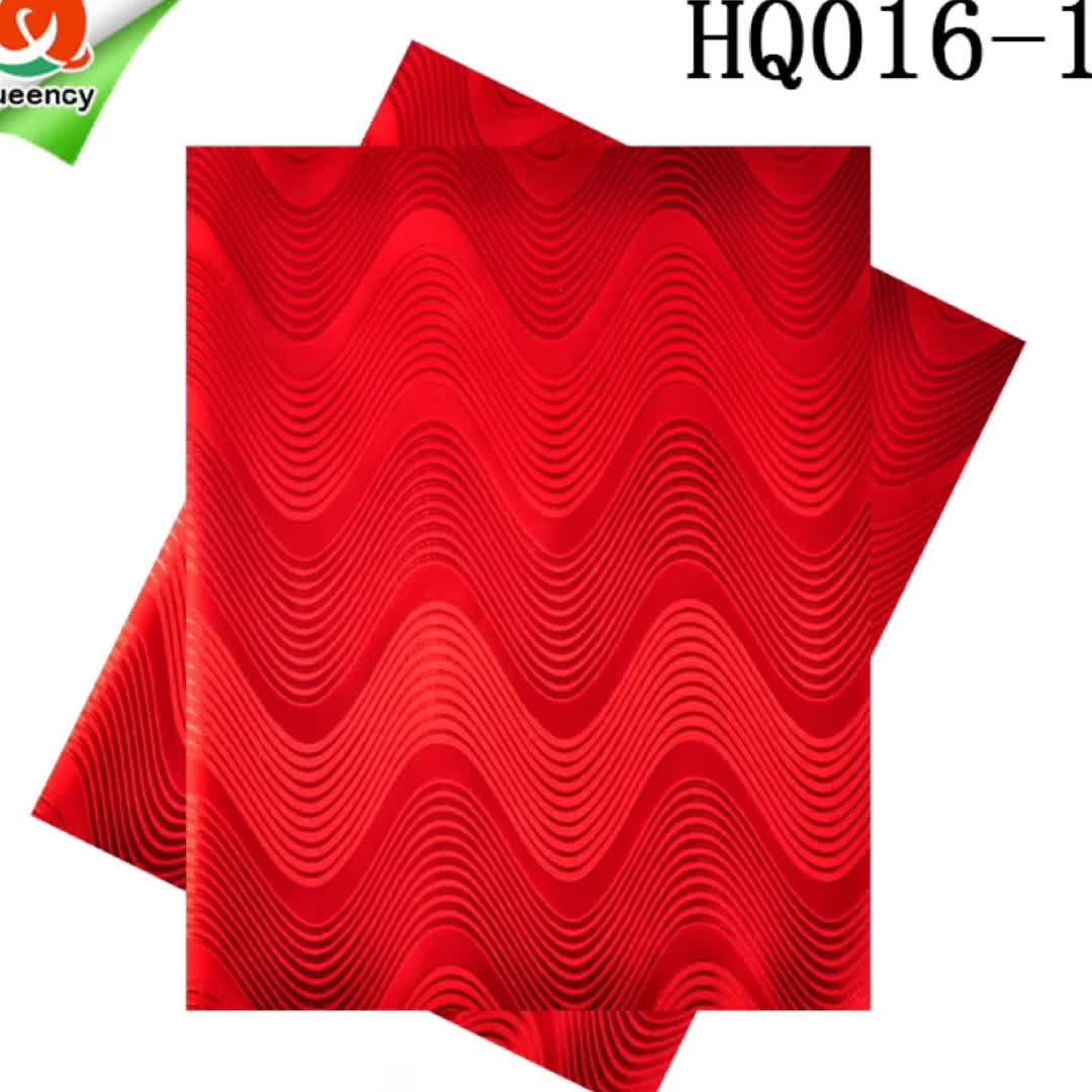 HQ016 Queency Hot Selling Multicolor Swiss Gele Sego Damask Headtie for Girls