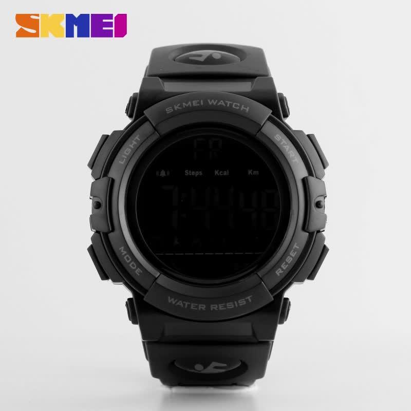 Azul del reloj Skmei 1303 La bluetooth digital de moda hombres de moda impermeable multifunción smartwatch