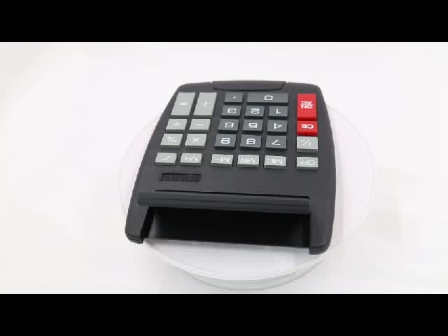 Promotional Gift 8 Digit Big Display Office Calculator With Adjustable Head