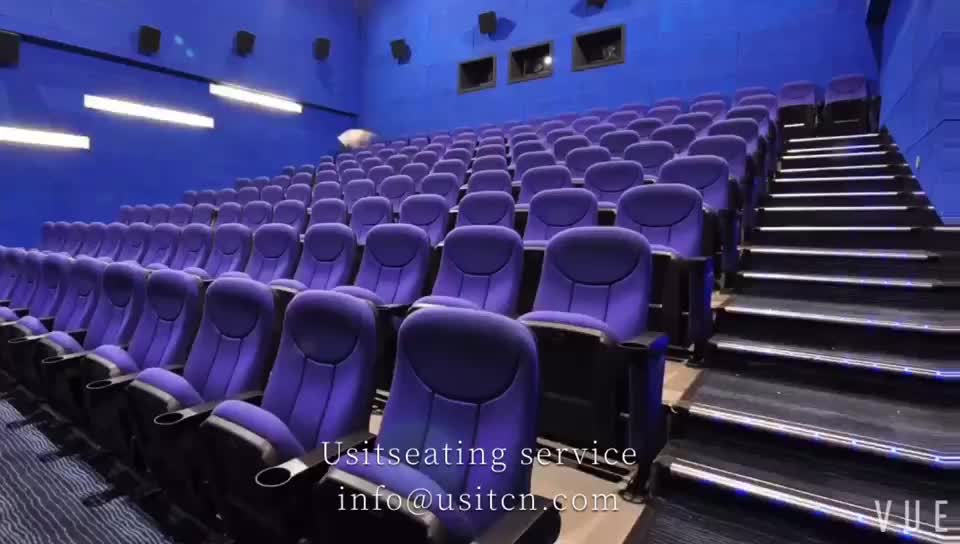 USIT UA626B cheap red commerical folding theater seats/cinema seats/theatre chairs