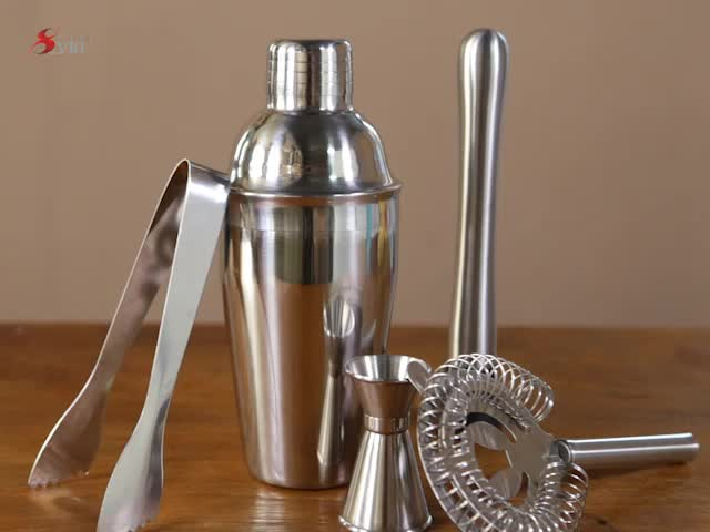 Bar Tools Stainless Steel Cocktail Shaker Cup