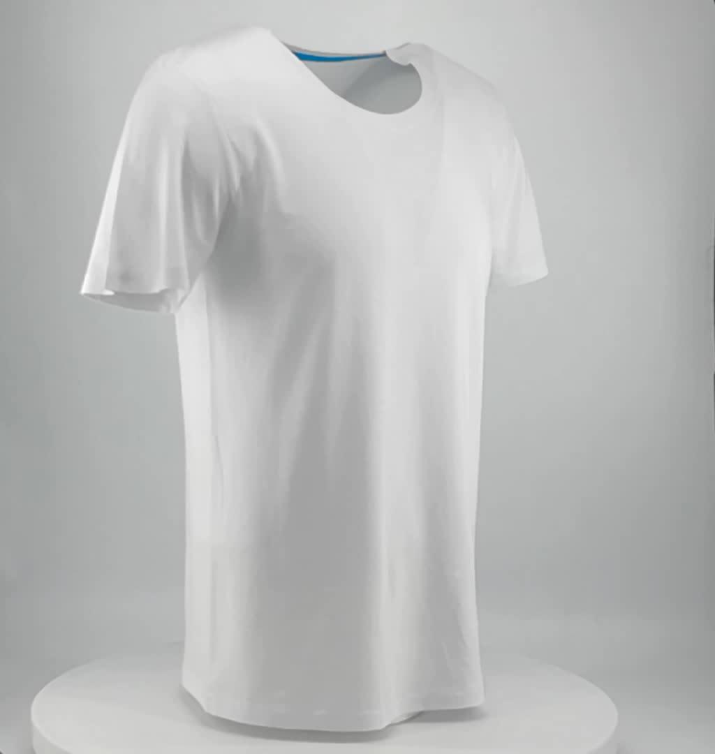 Hohe qualität lager blank white druckt-shirt unter $1