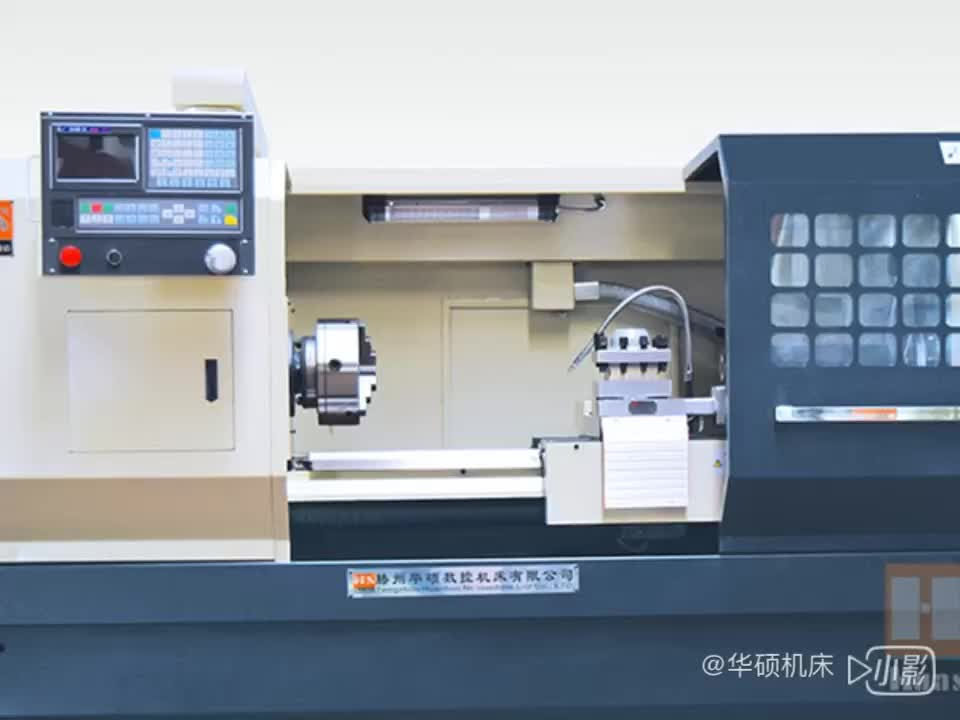 CK6140 CNC draaibank machine, economische horizontale CNC draaibank met GSK controlesysteem