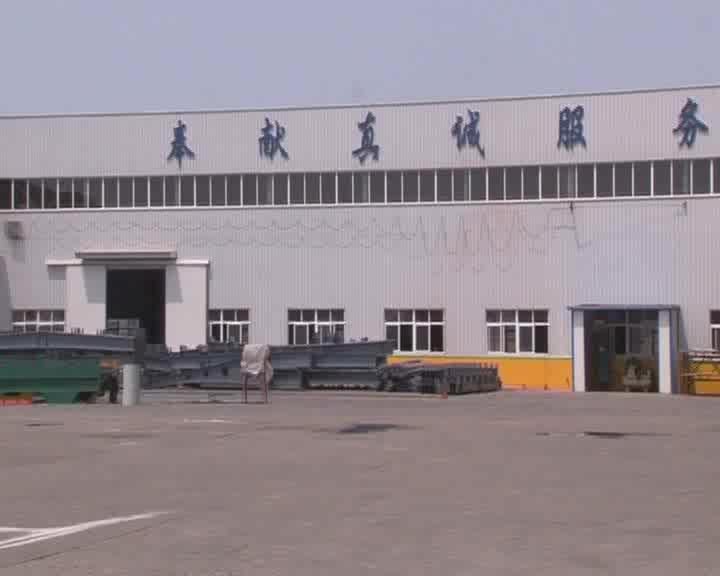 โครงสร้างเหล็กกรอบWorkshopโรงงานCraneในจีน