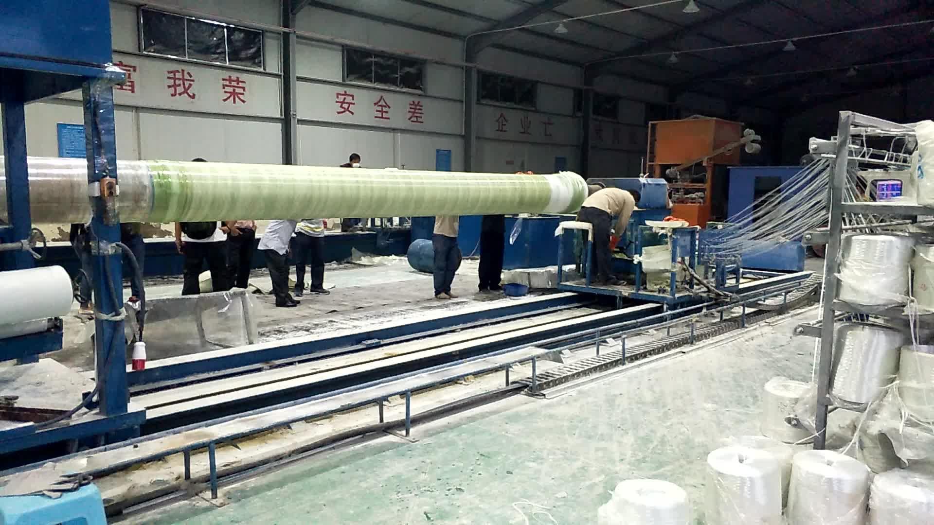 GRP Cam Elyaf Takviyeli Plastik Boru Fiyat