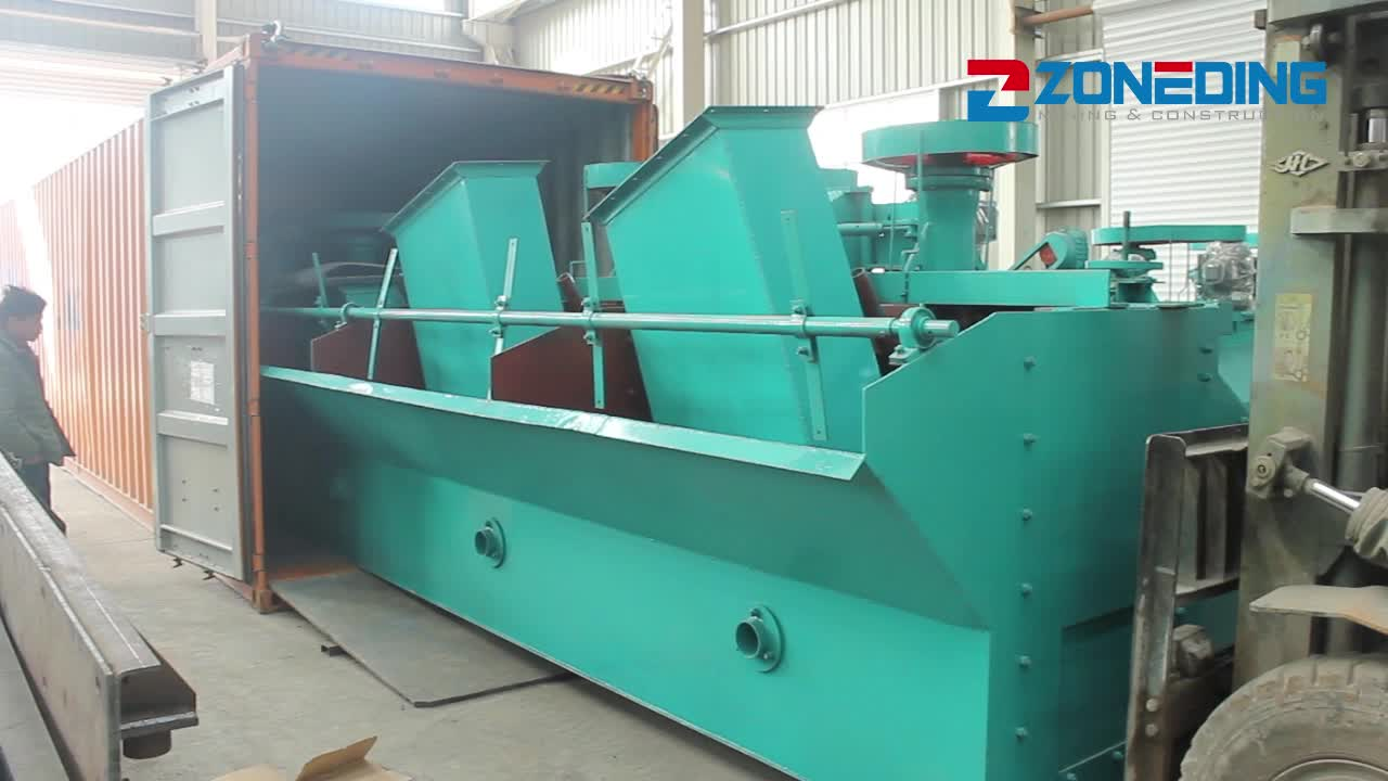 Top quality mineral copper flotation machine copper flotation processing price