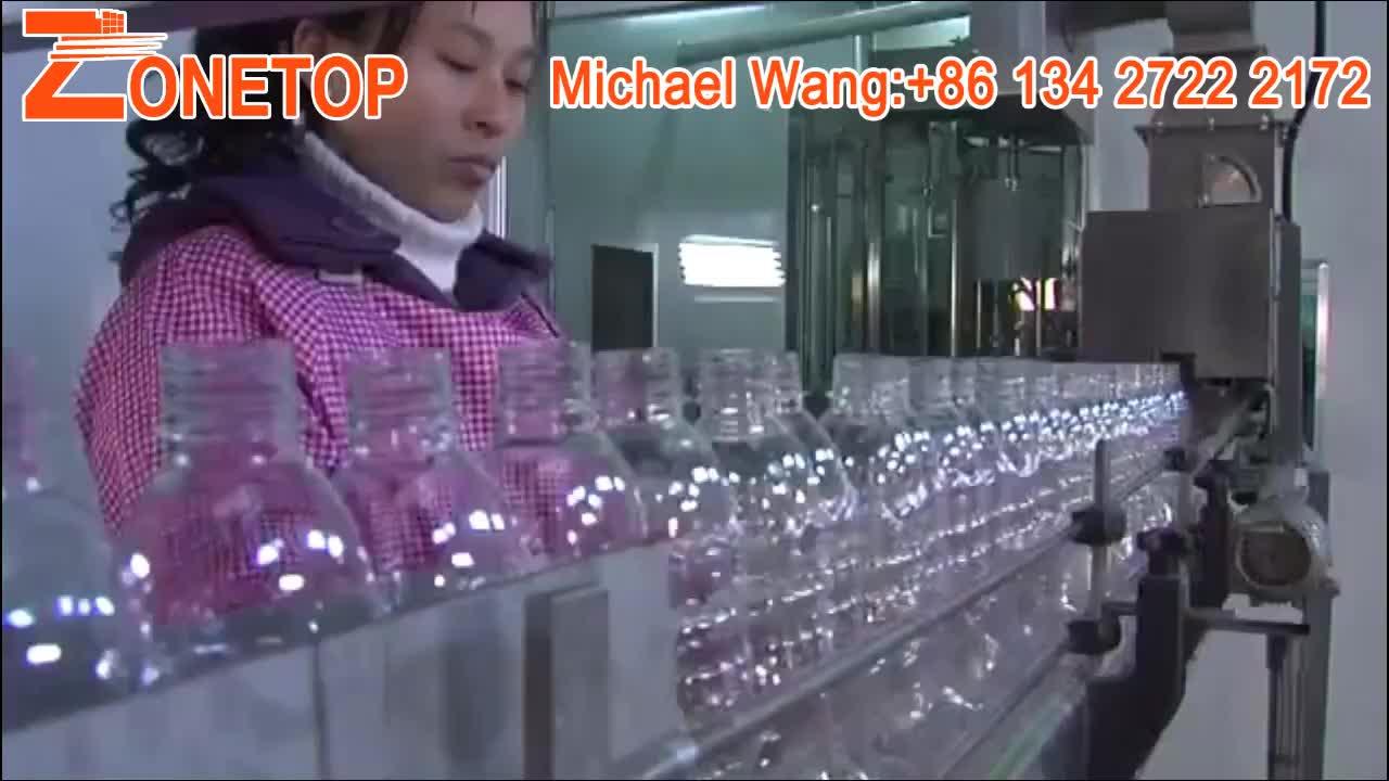 Großhandel 250ml 300ml 500ml 750ml 1000ml 1500ml PET-Wasserflaschen mit benutzerdefinierten Logo