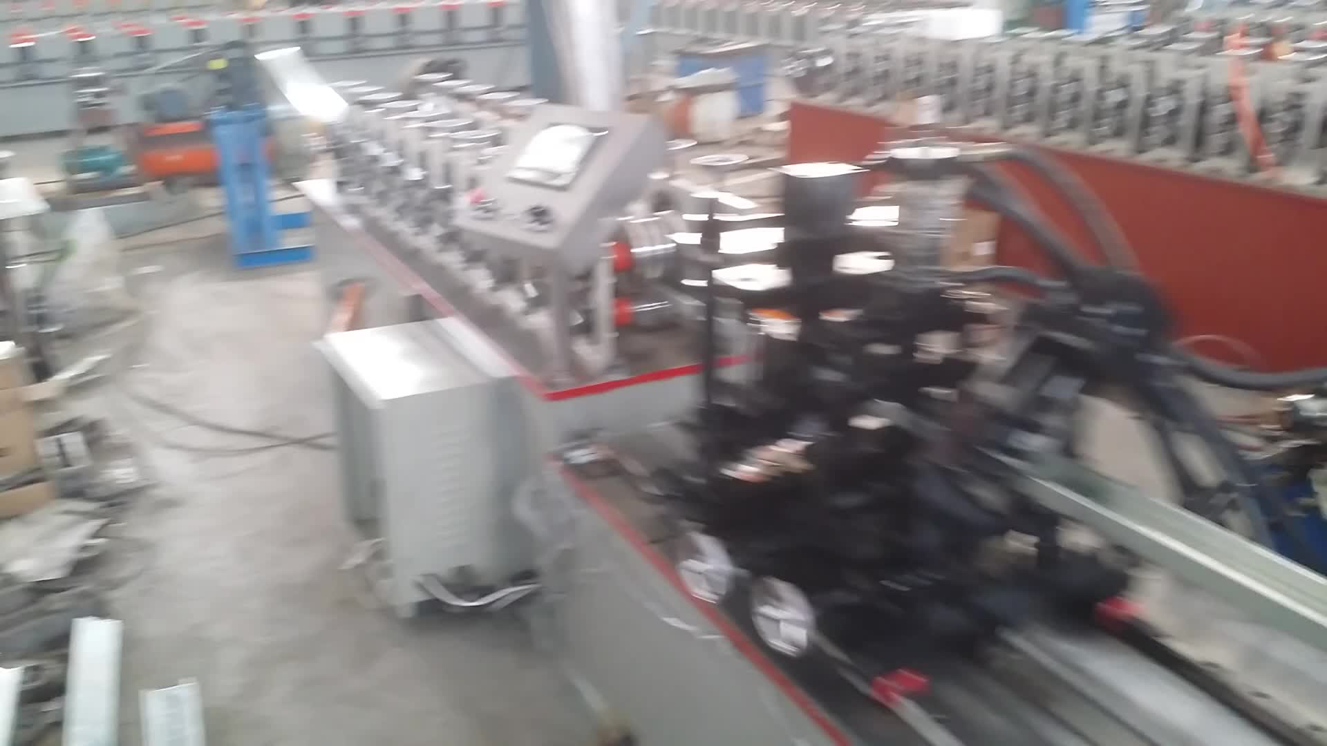 Light Keel And Stud Sheet Steel Drywall Profile Forming Machine Light Steel Keel Roll Forming Machine