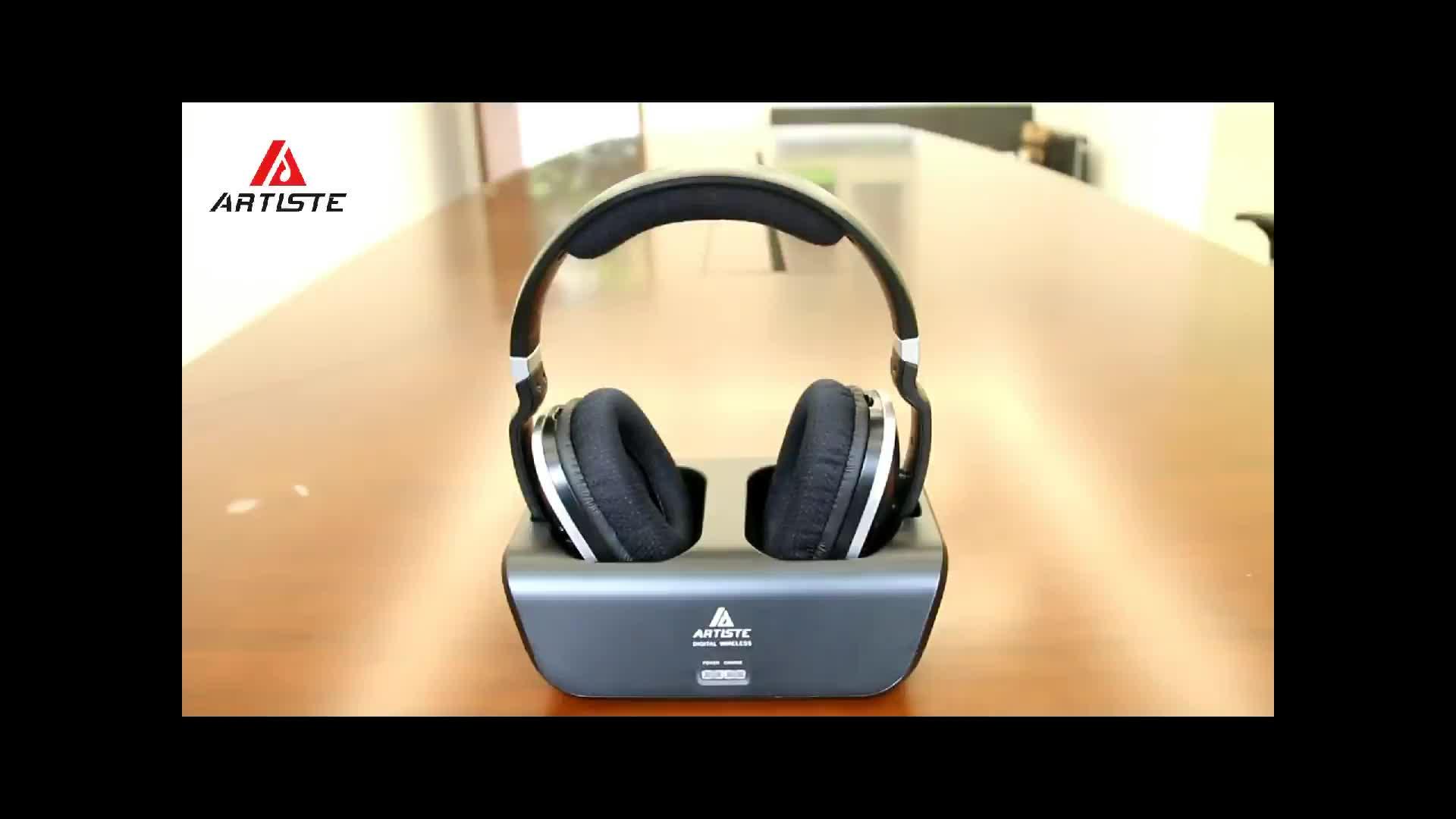 OEM auricular fabricación casa teatro estéreo auriculares inalámbricos para Tv