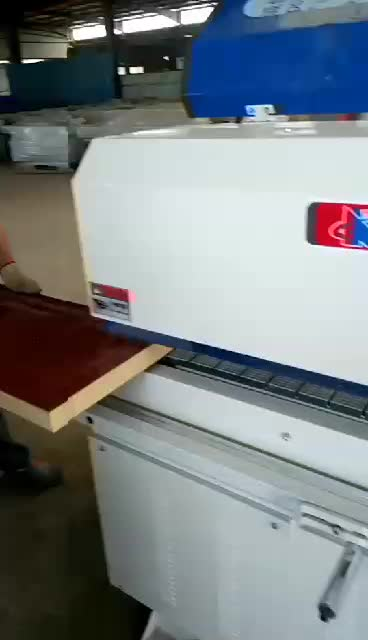 WF60E  wood Manual PVC/MDF automatic trimming edge banding machine