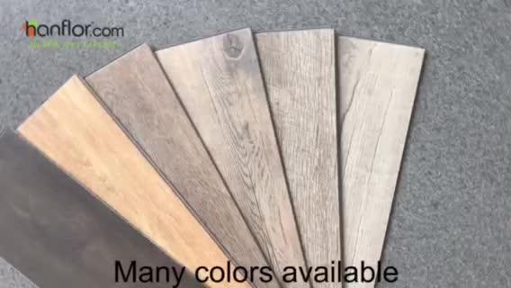 5mm Vinyl Wood Eco Plank Cartoon Fireproof Lvt Vinyl Flooring