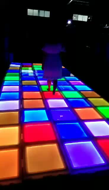 Dmx Control Led Dance Floor Tiles Buy Led Dance Floor