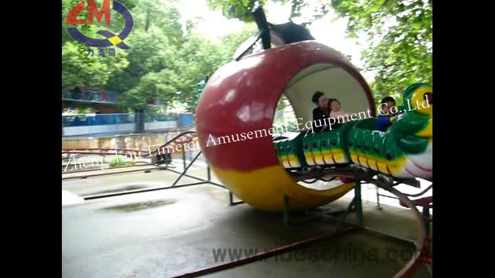 Amusement park roller coaster flume ride