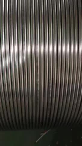 ASTM A269 A213 stainless steel coiled tube / tubing SS304 SS316L