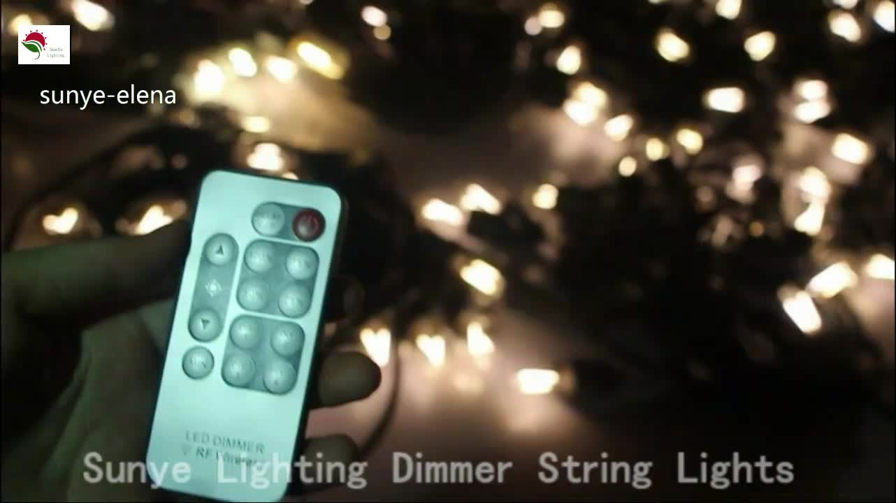 New Product Max Power 200w Wireless Remote Control String Lights Controlled Lightdimmer 50m Dimmer