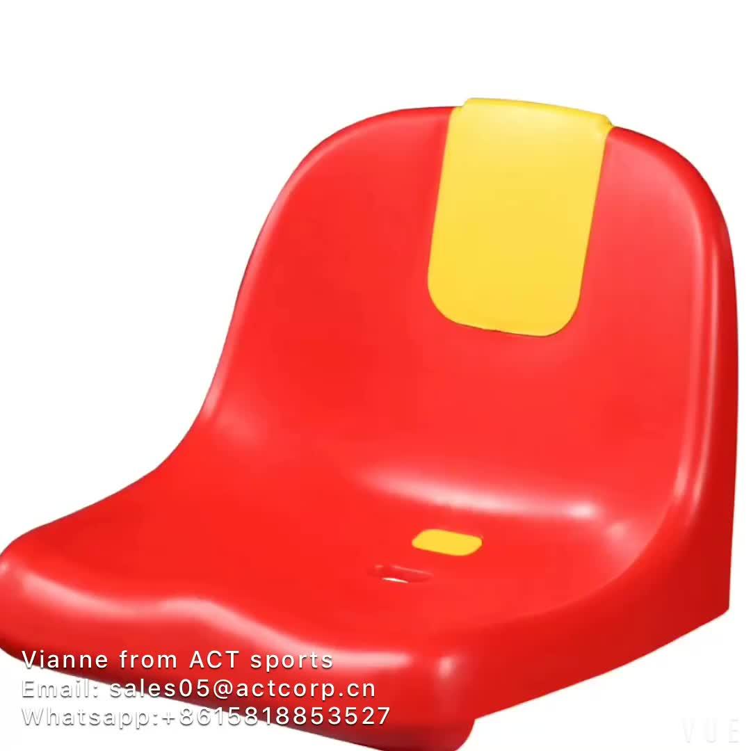 PP stampaggio ad iniezione di plastica stadio sedile, secchio di plastica del sedile per il calcio stadio ZS-ZKBB-P, AGIRE posti a sedere