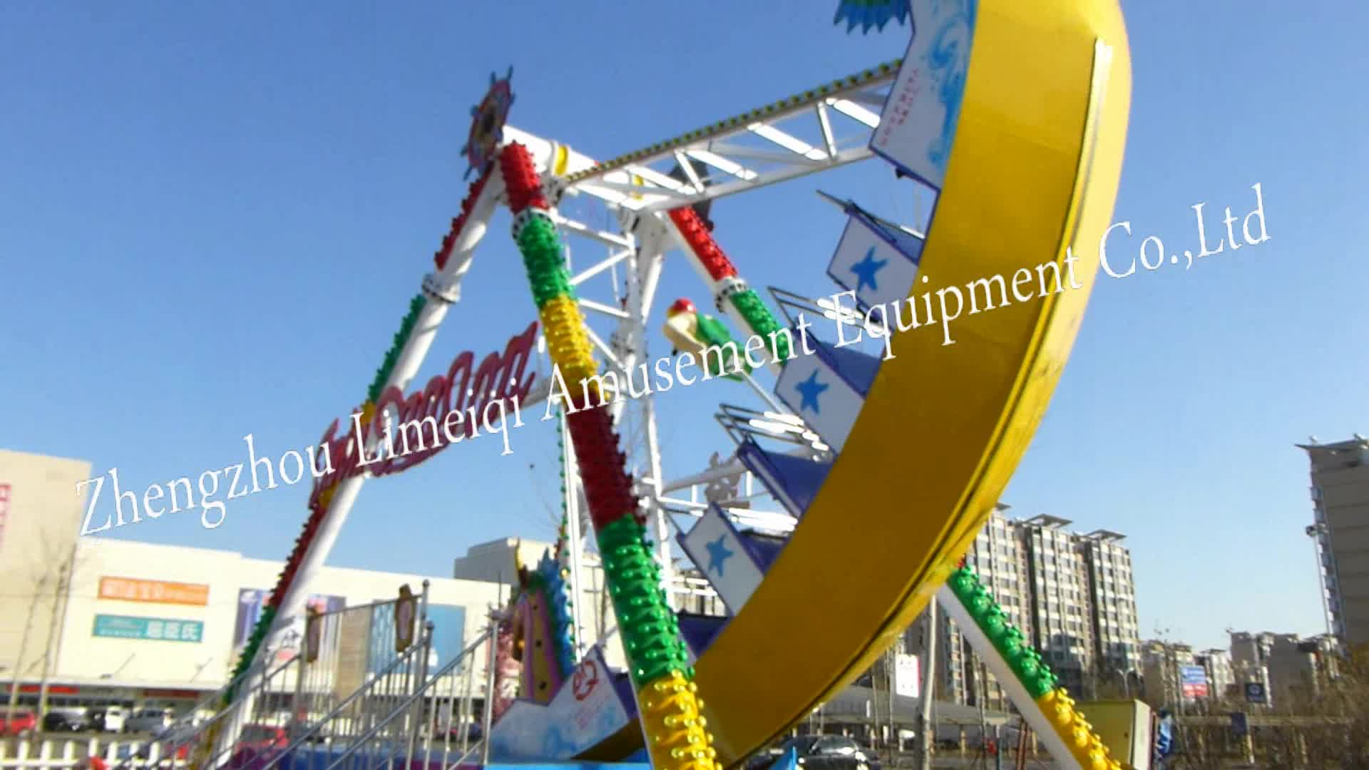 12 Swing Pirates Ship Outdoor Park Equipment Big Pendulum Ship Shaped