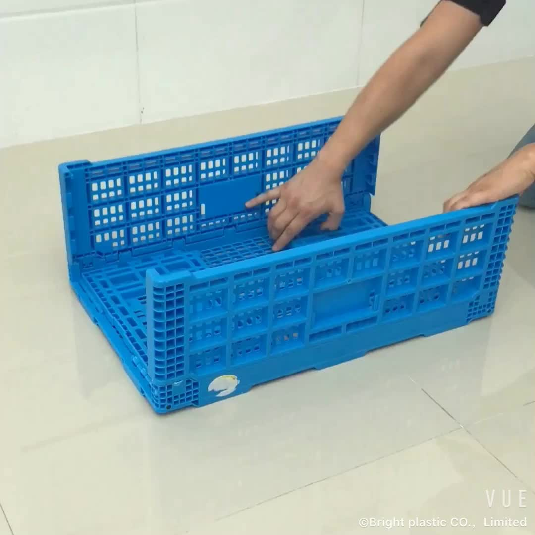 Folding Crate, Foldable Fruit Crate, Crate for Fruit and Vegetable/