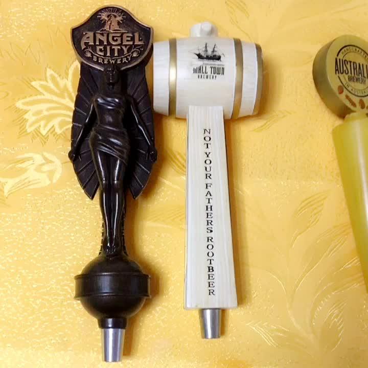 Wholesale Bar Accessory Custom Polyresin Beer Tap Handle