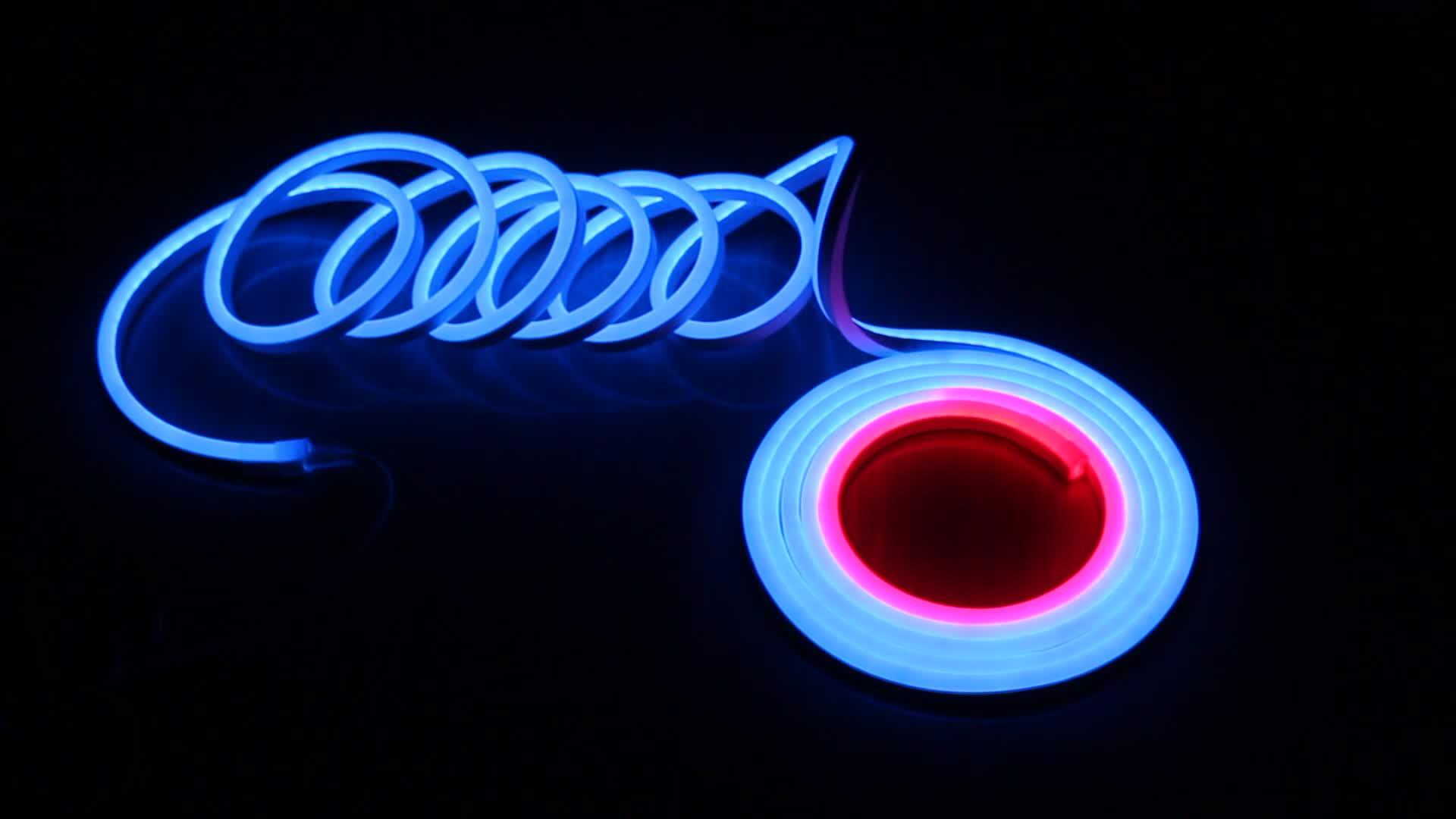 Hübsches quadratisches 11 * 19mm digitales RGB-Neon-Flex-Pixel, das nach Großverkauf sucht