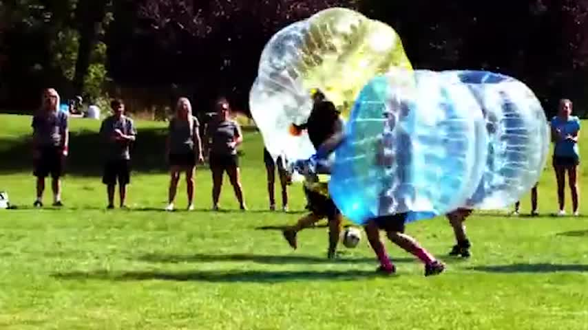 Inflatable Toy Style and PVC or TUP Material human Bubble Ball