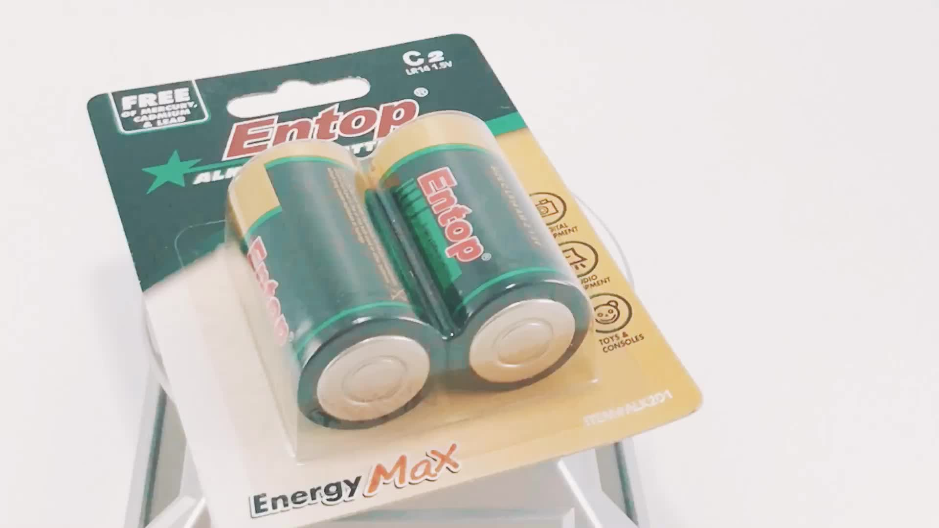Eco-Frindly Di AA lr6 Am3 Pin Alkaline