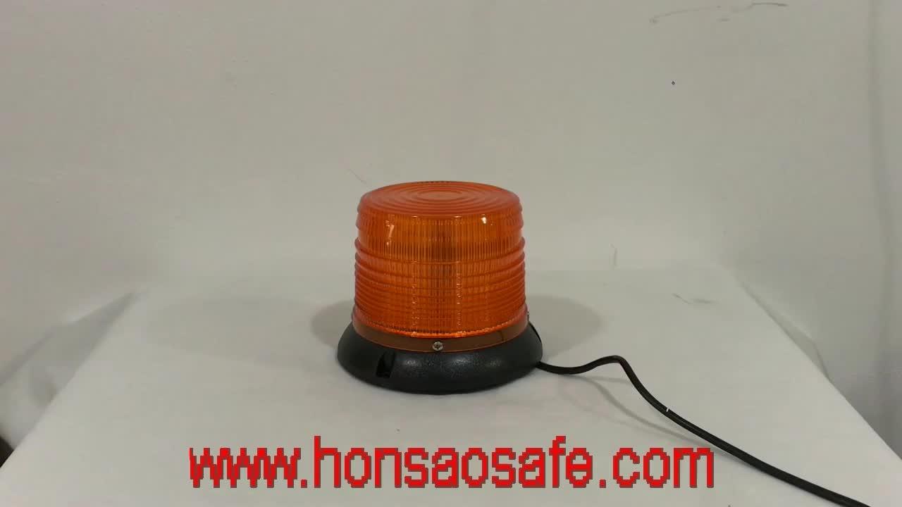 DC12V 24V 3W amber high power led flashing warning strobe beacon led light BALIZA LED CHICHON HTL314