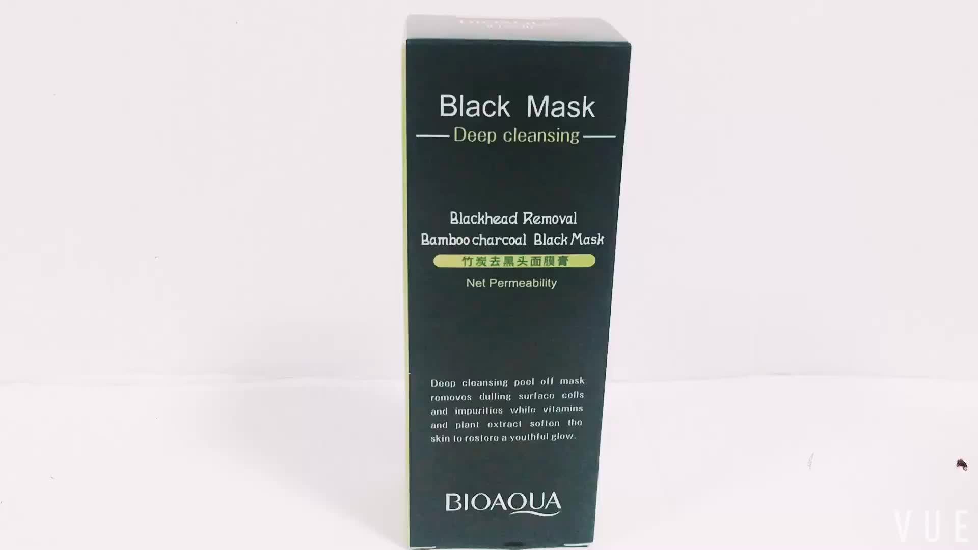 BIOAQUA Black peel off facial mask blackheads remover shrinking pores