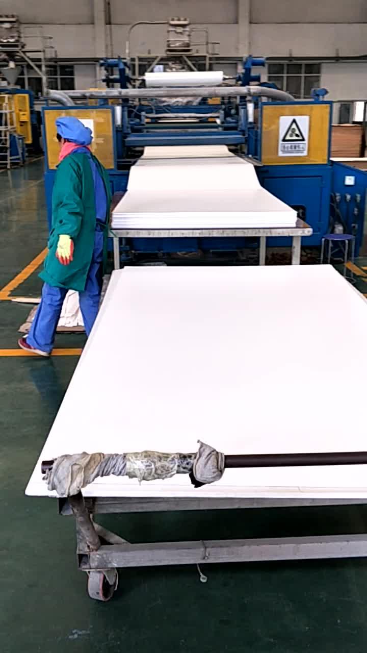 2018 Green brand Waterproof White Pvc Forex Foam Sheet / Board / Plate / Panel