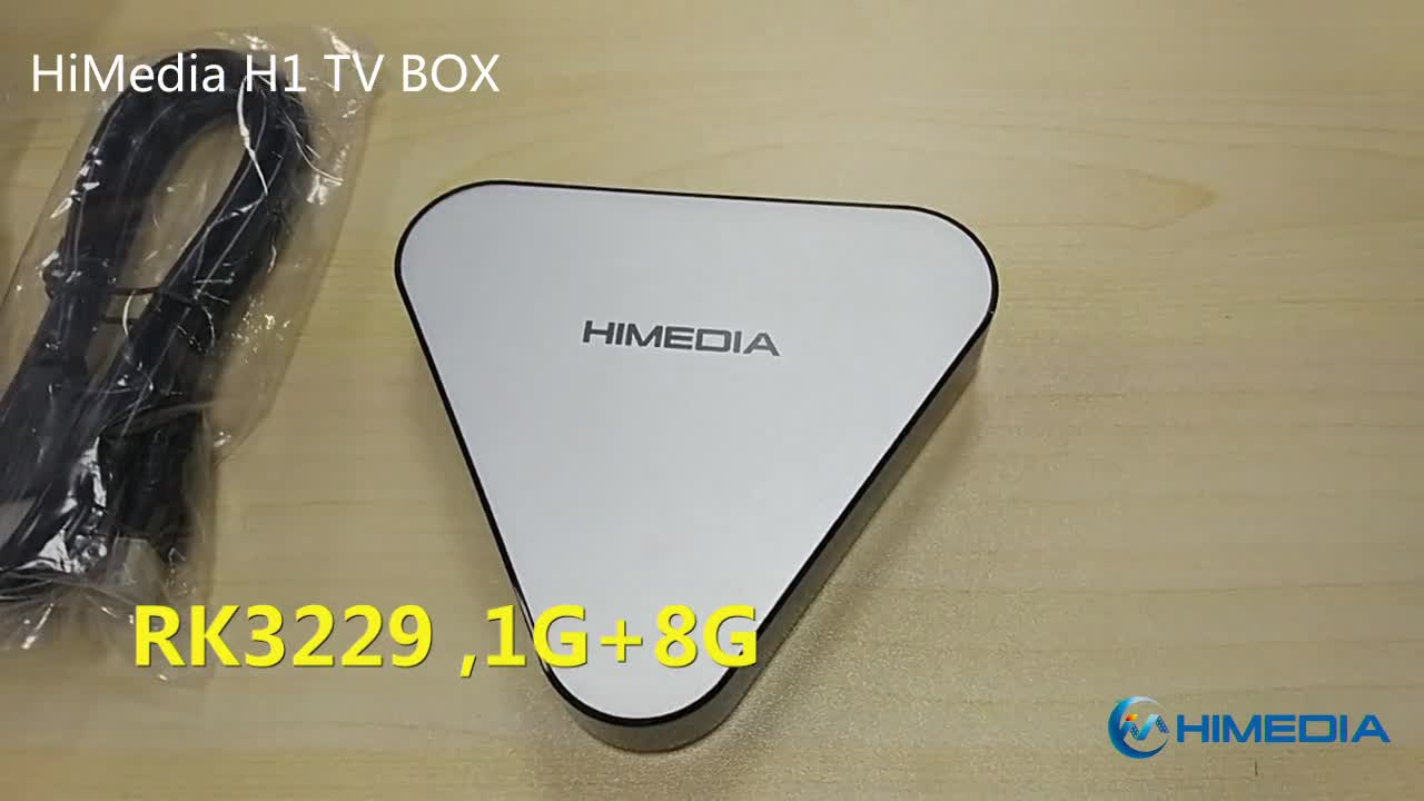 High Quality Android Tv Box HIMEDIA H1 RK3229 1G 8G 4K kodi Tv Box cheap price TV box