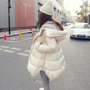 clearance Korean Luxury down jacket Girls long section 2014 new winter influx of fake two big yards cloak coat