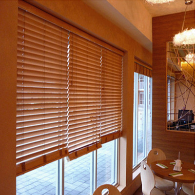 Custom wood blinds basswood blinds bamboo blinds wood blinds Special semi-shade custom shutter blinds