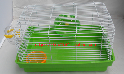 Guangdong 8 yuan limited weight sloth bear hamster cage simple beauty eyes bear cage M013 can wholesale