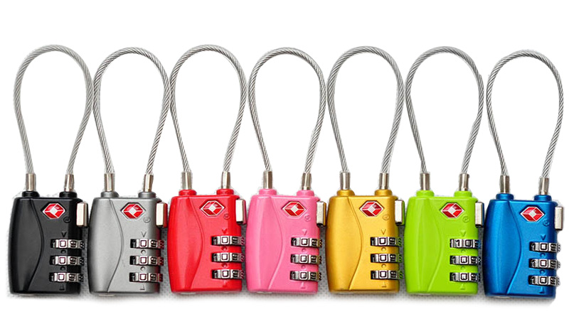 Jiasite abroad travel luggage suitcase trolley case Customs lock anti-theft security combination lock TSA padlock